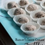 These rich and creamy Bailey's Irish Cream Truffles are so good and perfect for any holiday or special occasion.