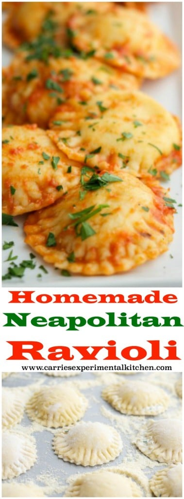 Learn how to make homemade Neapolitan Ravioli. It's easier than you think and perfect for Sunday Supper.