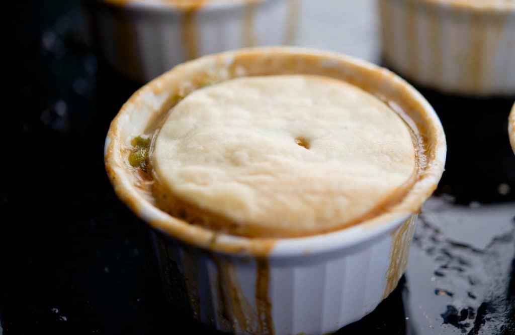 Individual Beef Pot Pie