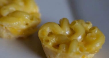 Mac and Cheese Poppers (Reduced Fat)