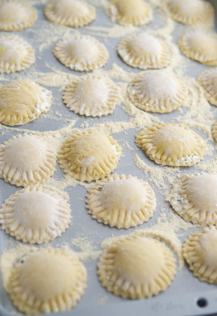 Neapolitan Ravioli Before Cooking #pasta #meatless #vegetarian