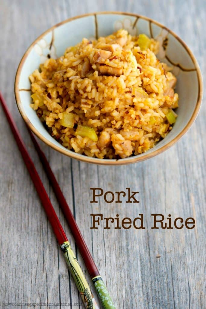 Pork fried rice carries experimental kitchen what do you make for dinner when you have leftover pork roast pork fried rice ccuart Images