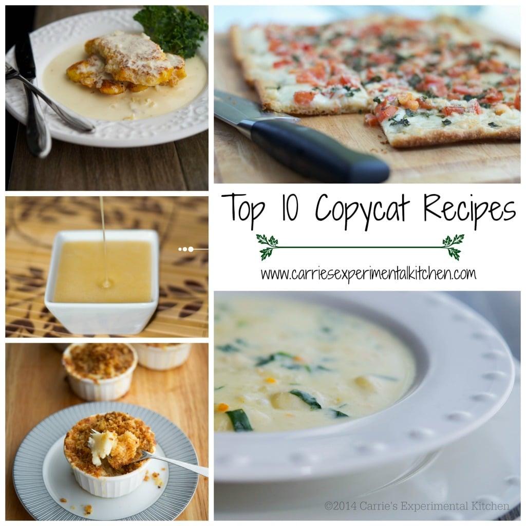 Top 10 Copycat Recipes Carrie S Experimental Kitchen