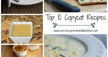 Top 10 Copycat Recipes