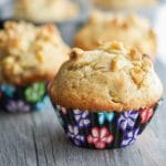 Jumbo Banana Walnut Muffin
