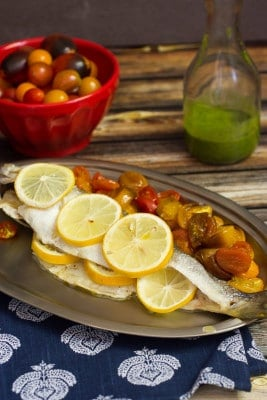 Roasted-Branzino-and-Tomatoes-with-Lemon-Basil-Sauce