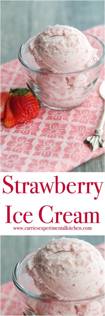 Enjoy homemade Strawberry Ice Cream at home with a few simple ingredients like fresh strawberries, milk and cream. You'll never buy store bought again.