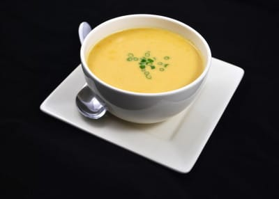 Creamy Asian Root Vegetable Soup