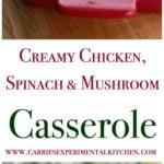 reamy Chicken, Spinach & Mushroo