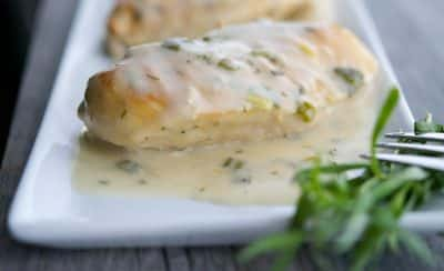Grilled Chicken with a Dijon Tarragon Sauce-horizontal