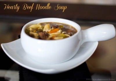Hearty Beef Noodle Soup-CEK
