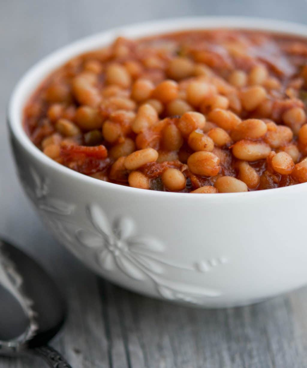 Maple Brown Sugar Baked Beans - Carrie's Experimental Kitchen