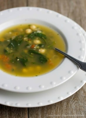 spinach & chick pea soup-cek