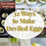 Tired of the same old boring deviled eggs? Try a new way to make them this Easter with these 32 Ways to Make Deviled Eggs.