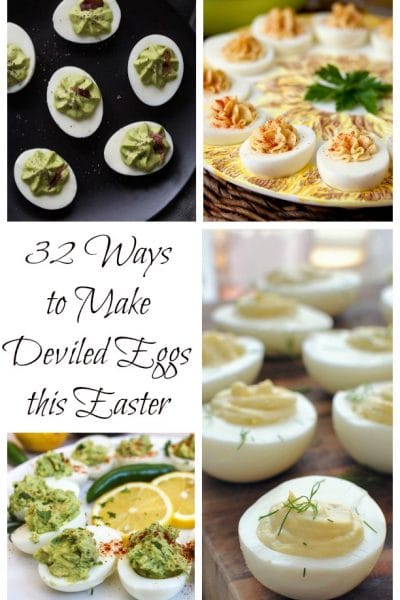 32 Ways to Make Deviled Eggs this Easter