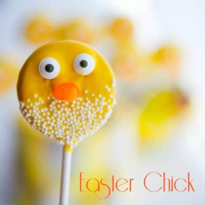 These Easter Oreo Chick Pops are adorable and would make a fun place setting on your Easter table. The kids will really love them too!