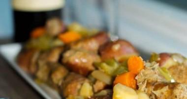 Slow Cooker Italian Sausage Stew