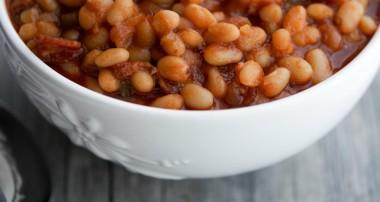 Maple Brown Sugar Baked Beans #SundaySupper