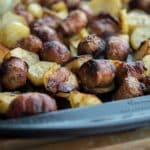 Roasted Italian Sausage & Potato Bake-2