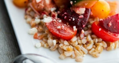Santorini Farro Salad (The Cheesecake Factory Copycat)