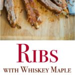Nothing says summer than a perfectly seasoned rack of ribs on the grill. These Ribs with Whiskey Maple BBQ Sauce are fall off the bone, melt in your mouth good. Try this sauce on grilled chicken too.