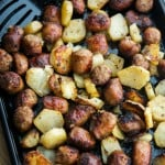 Roasted Italian Sausage and Potato Bake