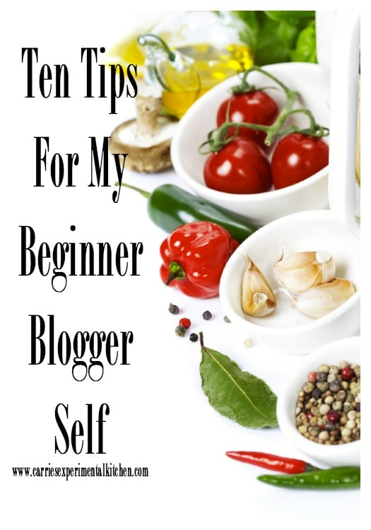Ten Tips For My Beginner Blogger Self