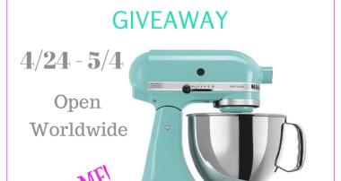 Spring Into Baking KitchenAid 5qt Artisian Mixer Giveaway
