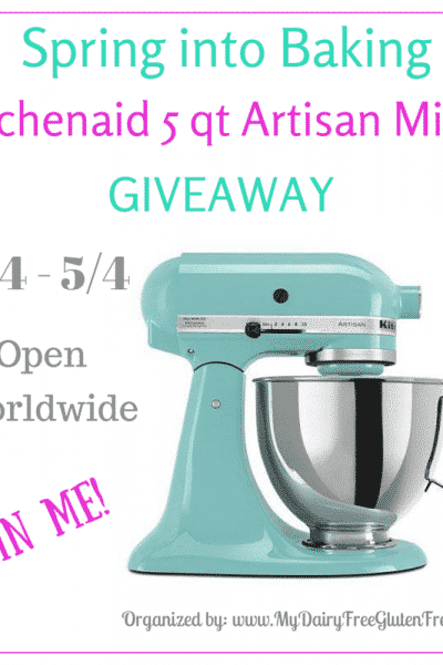 Spring Into Baking KitchenAid 5qt Mixer Giveaway