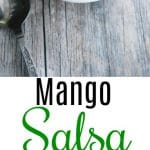 This Mango Salsa is refreshingly light and takes minutes to prepare. Try it on top of your favorite grilled chicken or fish recipe too!