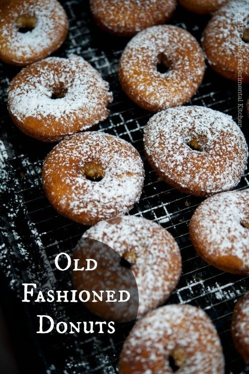 Old Fashioned Donuts | Carrie's Experimental Kitchen #dessert #vegetarian