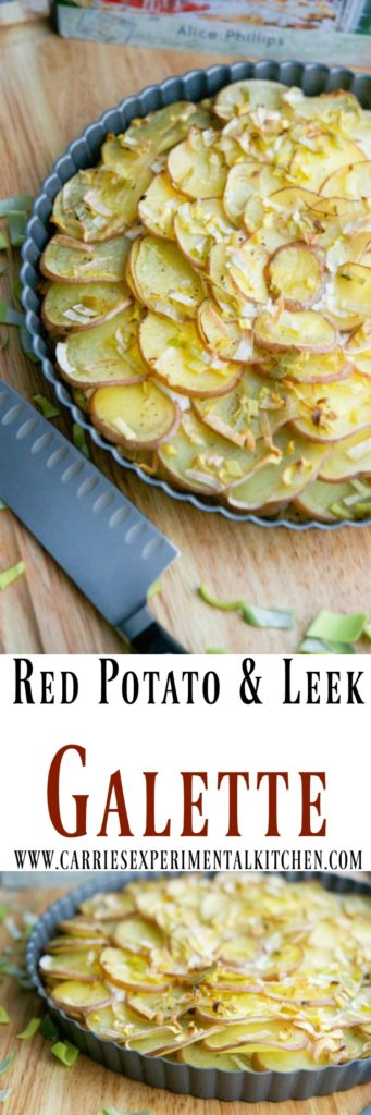 ... cookbook and share her recipe for Rosemary Red Potato & Leek Galette