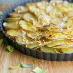Red Potato & Leek Galette Horizontal