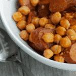 Slow Cooker Kielbasa, Chickpea & Tomato Ragout-Horizontal
