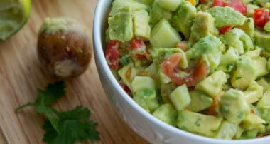 5 Ingredient Tomato, Cucumber & Avocado Salad