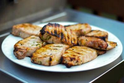 Corona Grilled Pork Chops