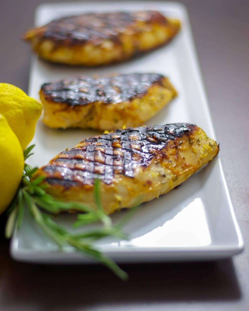 Honey Lemon Grilled Chicken Breast