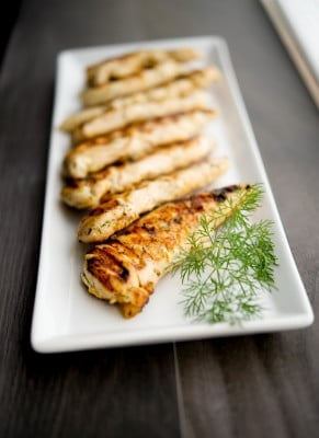 Lemon Dill Grilled Chicken-Carrie's Experimental Kitchen