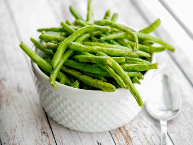 Sea Salt Roasted Green Beans-Horizontal