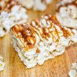 Salted Caramel Marshmallow Popcorn Treats-Horizontal 2