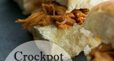 Crockpot BBQ Chicken Sliders