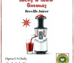 Juicing to Health Giveaway