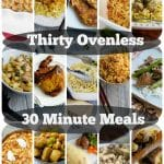 Thirty Ovenless 30 Minute Meals | Carrie's Experimental Kitchen