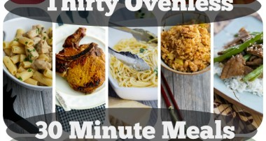 Thirty Ovenless 30 Minute Meals