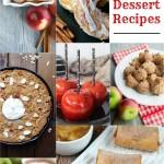 20 Apple Dessert Recipes | CarriesExperimentalKitchen.com