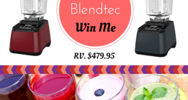 Blend Away the Summer with Blendtec {Giveaway}