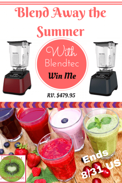 Enter to win a Blendtec Designer 625 Blender in the Blend Away the Summer with Blendtec #Giveaway | CarriesExperimentalKitchen