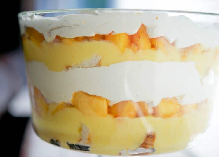 Peaches & Cream Trifle-horizontal