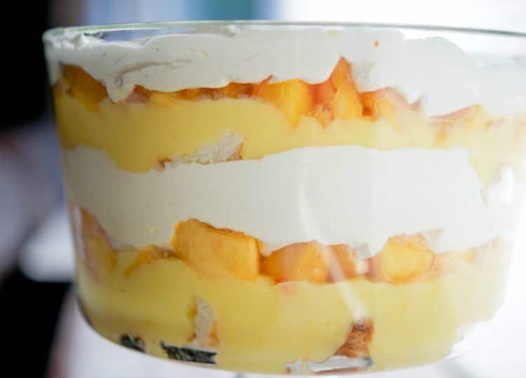 Peaches & Cream Trifle-horizontal