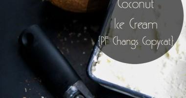 Pineapple Coconut Ice Cream {PF Changs Copycat}